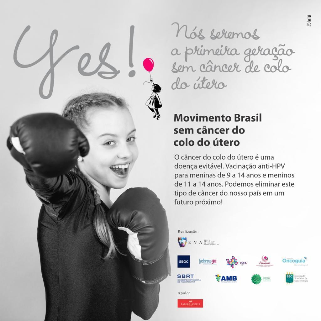 Movimento Brasil sem câncer de colo de útero 001