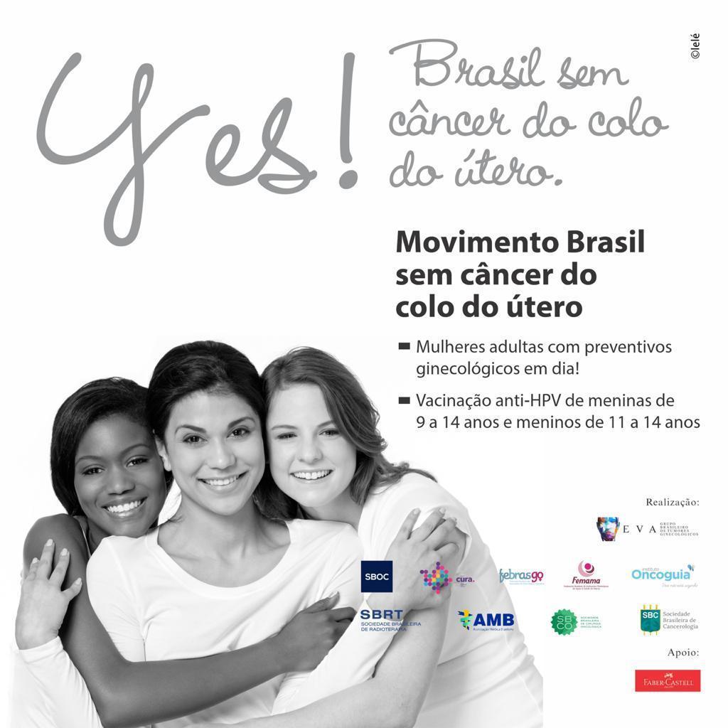 Movimento Brasil sem câncer de colo de útero 002